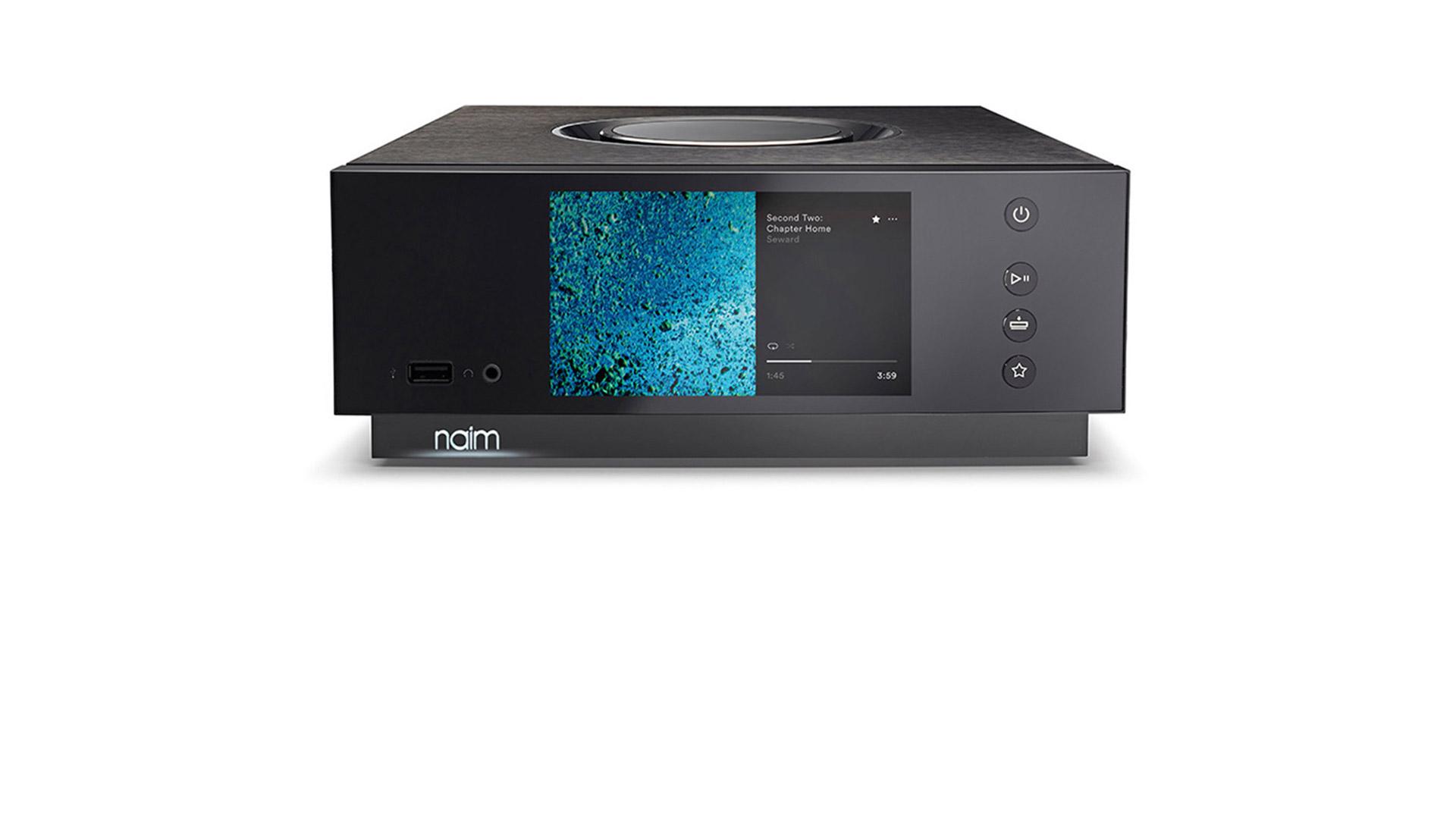 Unit Atom — Kompakter All-in-one-Player Mit Leistungsstarkem Verstärker Und Hochauflösendem Streaming.